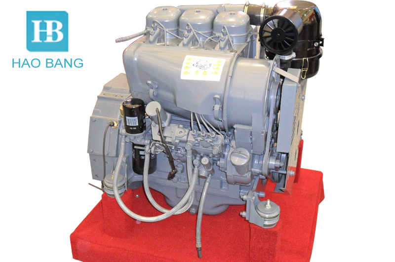 Deutz air cooled diesel engine F3L912