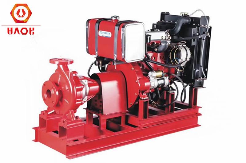 Diesel Fire Emergency Water Pump