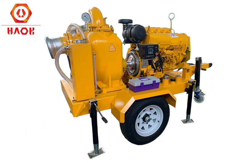 Deutz F4L912 Diesel Engine For Self Priming Trailer Water Pump