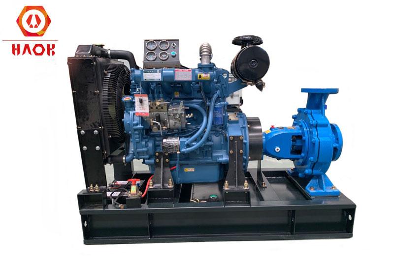 Centrifugal Pump Unit With Licardo Diesel Engine
